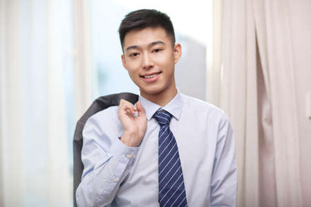 Portrait of a young business man high quality photo