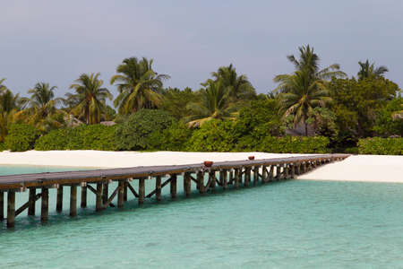 The scenery of Maldives high quality photo