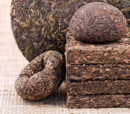 Portrait of Puer tea high quality photo