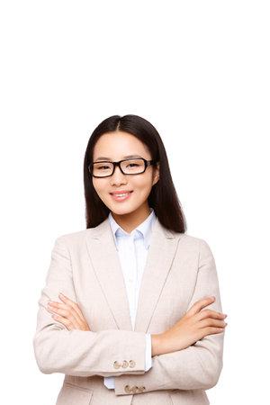 Oriental business woman portrait high quality photo