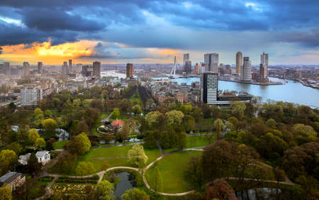 euromast: Rotterdam is a city in the Netherlands, located in South Holland.