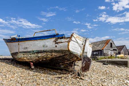 In the harbor of Carmaret sur mer Stock Photo
