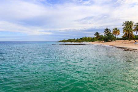 The beach at Maria la Gorda in the province Pinar del Rio 版權商用圖片