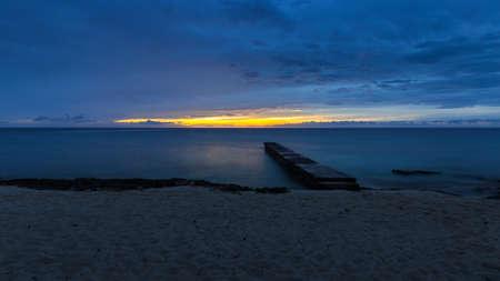 pinar: The beach at Maria la Gorda in the province Pinar del Rio Stock Photo