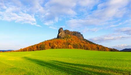 Afterloon at the Lilienstein near k?¶nigstein and Bad Schandau