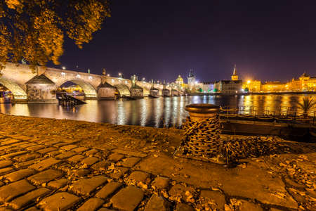 The city of prague at night Kho ảnh