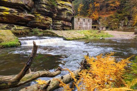 Old ground mill near Jeta ichovice in czech