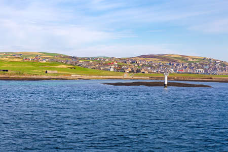 The Orkney Islands near Stromness, taken from the ship