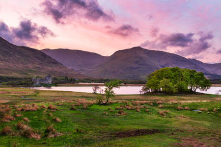 Evening and Sunset at Kilchurn Castle