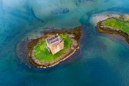Castle Stalker near Portnacroish in Scotland