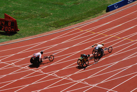 2008 Paralympic Wheelchair race