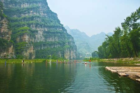 Beijing shidu natural scenery resort Stock Photo - 7366718