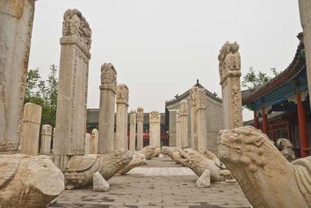 Stone Art Exhibition Beijing Wutasi Stock Photo - 7366732