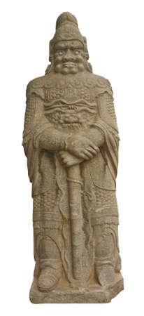 Beijing Wutasi stone sculpture man photo