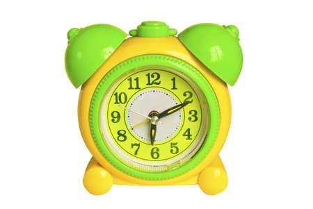 Colorful mini alarm clock for children