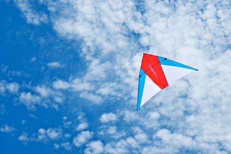 Kite flying under the sky Stock Photo - 7539993