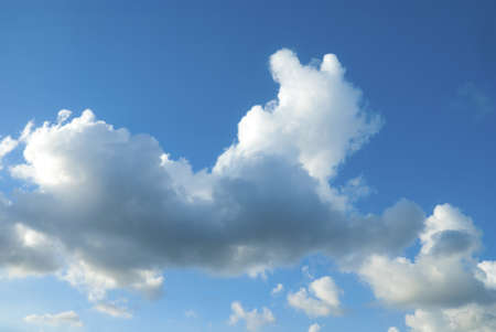 Clouds shaped like a dog