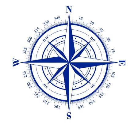 Compass Chart Stock Photo - 8062427
