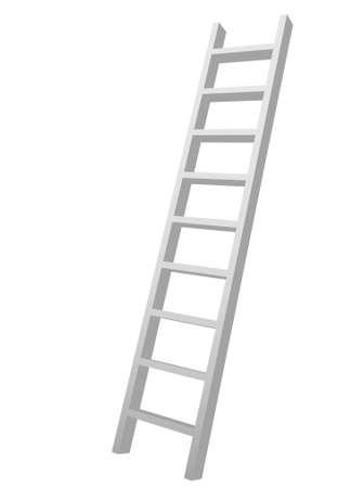 3D graphics ladder Stock Photo - 8062364