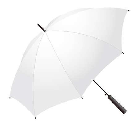 A white umbrella