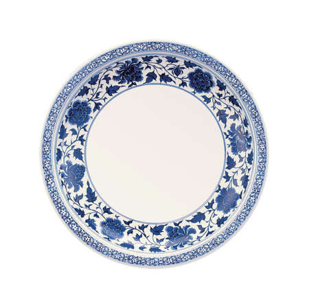 Classic blue and white porcelain China 스톡 사진