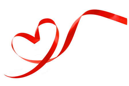 Ribbon made of heart-shaped Stock Photo - 8773920