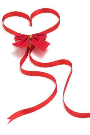 Ribbon made of heart-shaped Stock Photo - 8773924