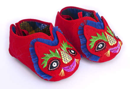 Traditional Chinese baby tiger shoes