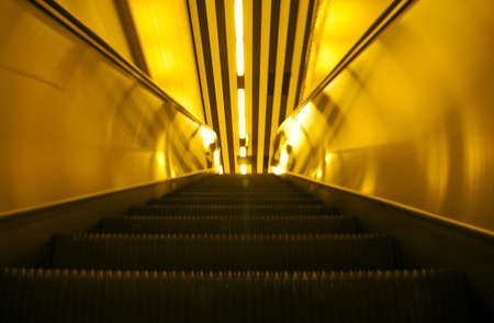 Subway  elevator Editorial
