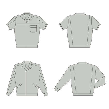 men work wear Vector