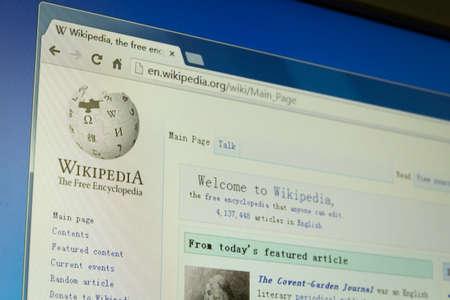 wikipedia Stock Photo - 18888947