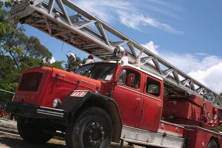 antique fire truck: Fire Truck