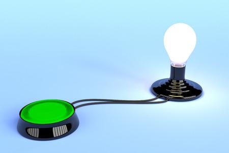 pleasing: Conceptual Idea Generator on a pleasing blue background.