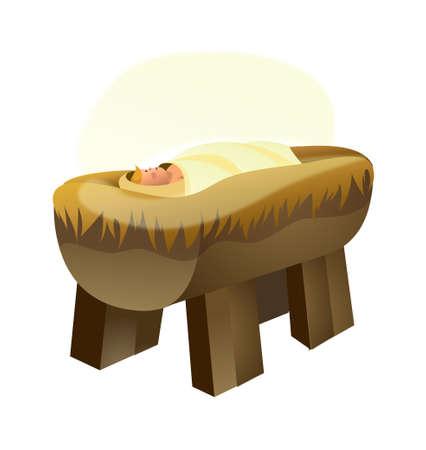 Newborn baby Stock Vector - 15786160