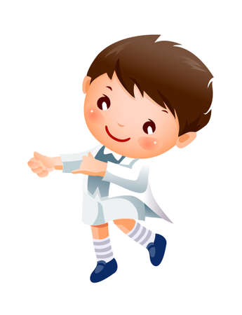 Boy Dancing Stock Vector - 15929508