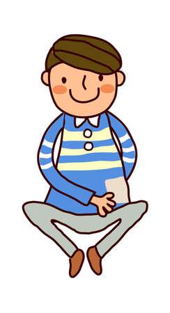 Portrait of Boy  Stock Vector - 15903846