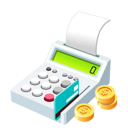 Vector Icon card and money Illustration