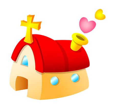 Vector icon church Stock Vector - 15908791