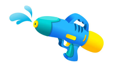 Vector icon water gun