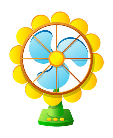 Vector icon fan Stock Vector - 15910635