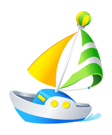 Vector icon boat