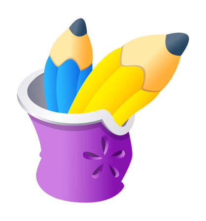 Vector icon pencil Stock Vector - 15888980