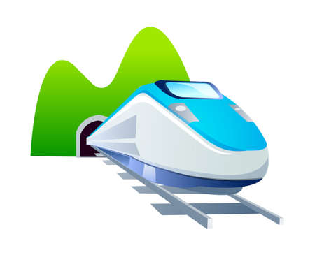 vector icon train Stock Vector - 15994203