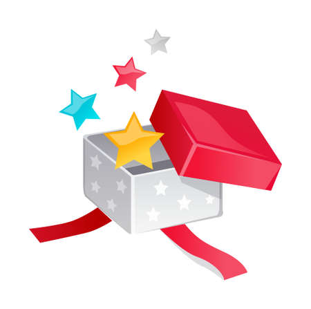 icon gift box Stock Vector - 15938847