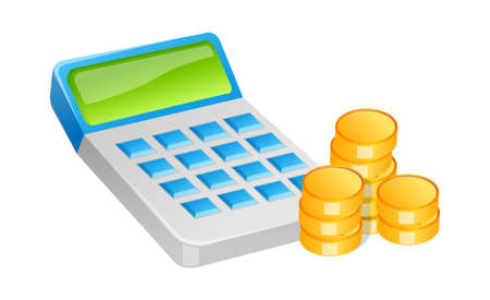 images icon: icon cash and calculator