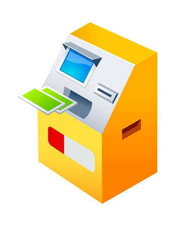 icon ATM Stock Vector - 15939172