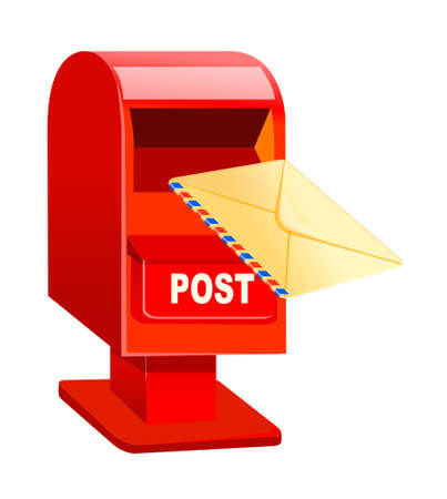 post box Stock Vector - 15995551