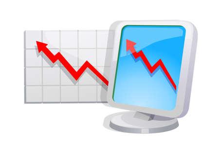 stock graph: stock graph