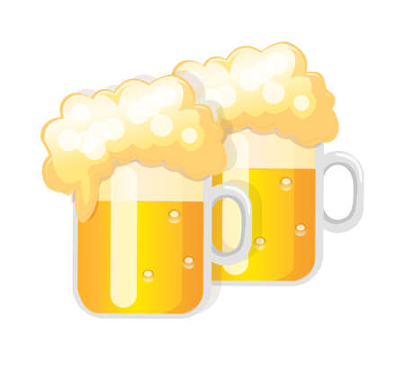 vector icon beer Stock Vector - 15993657