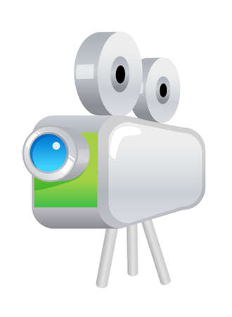 film projector: icon film projector